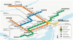 montreal canada metro map square to become square oaci montreal