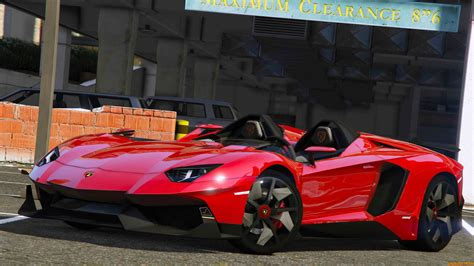 Lamborghini Mods Lamborghini Aventador J Speedster 2012 V1 0 For Gta 5