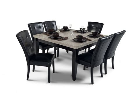 Dining Room Sets Bobs Furniture by Montibello 54 Quot X 54 Quot Dining 7 Set Room Set Bobs