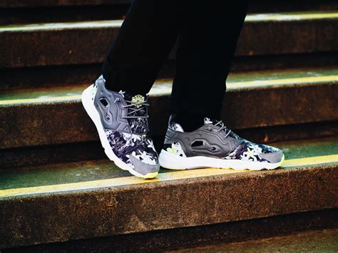 Reebok Furylite Classic 29002m Mrpt reebok combines neon colors and floral prints on a trio of furylite styles freshness mag