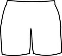 White Boxer Shorts Clip Art At Clkercom  Vector Online sketch template
