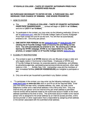 Online Sweepstakes Rules - wheelchair prescription form fill online printable fillable blank pdffiller