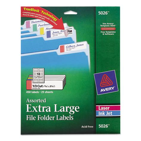 avery file folder labels template avery file folder labels template