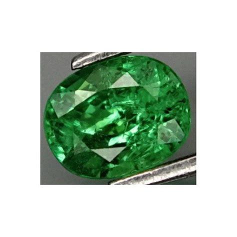 0 73 ct green garnet tsavorite gemstone oval cut