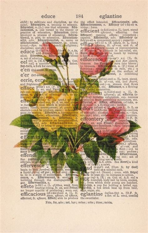 libro the almanac a seasonal 25 best ideas about dictionary art on book printing vintage book art and flower art