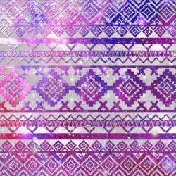 Paisley Print Duvet Covers Aztec Tribal Diamond Pattern Pink Nebula Galaxy Space Art