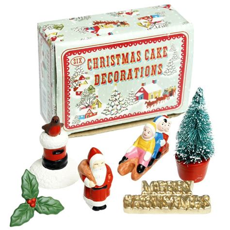 1960s christmas cake ornaments google search 1960s