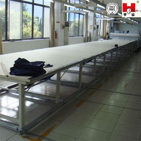 cutting table for fabric industrial sewing cutting tables fabric cutting table with