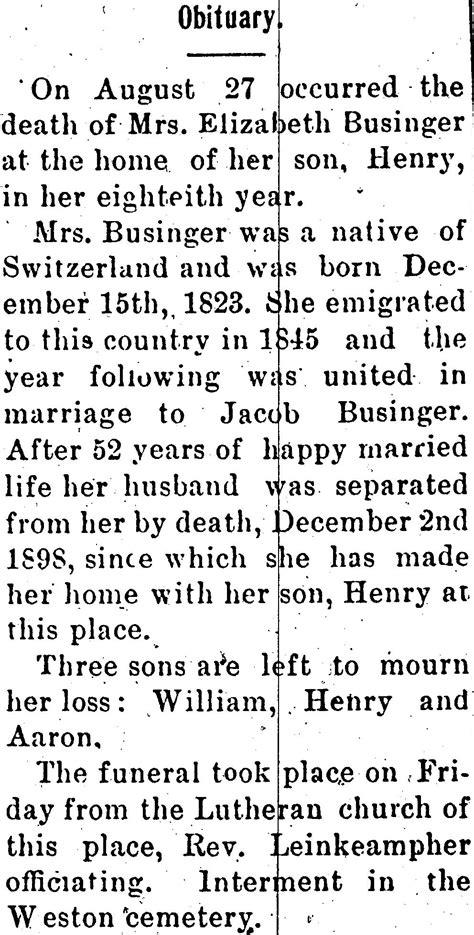 Obituaries Exles Templates by Sle Obituary Format