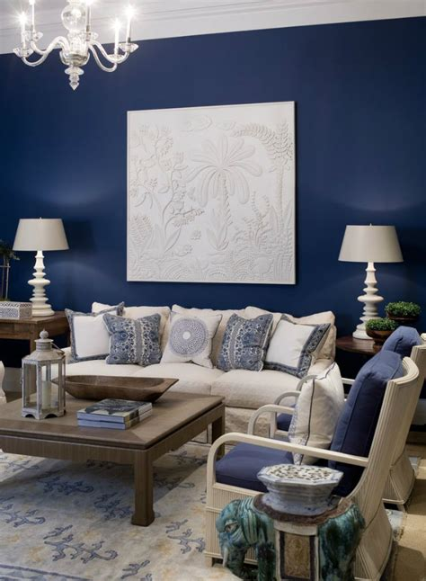 blue accent wall small living room furniture sets navy blue for accent