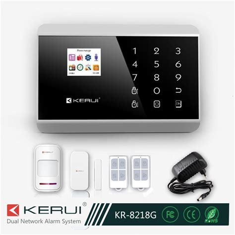 wireless digital home security alarm system manual with