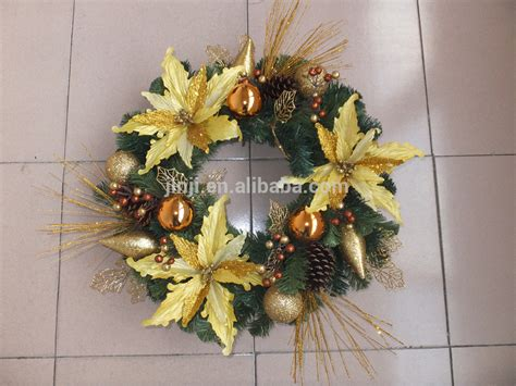 hot sale artificial christmas wreath wholesale buy