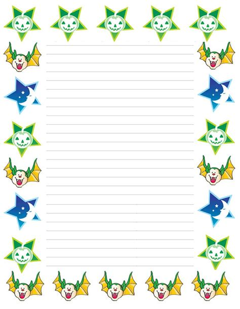 writing paper with borders free tags for students new calendar template site