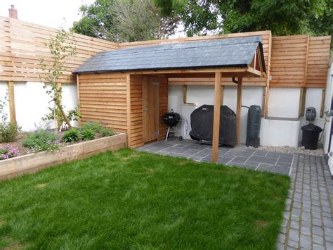 Sheds Barbecue by Fibreglass Slate Tiled Roofing Sheets On Shed Roof