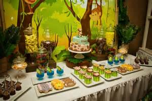 jungle theme baby shower table decorations 31 jungle theme baby shower table decoration ideas
