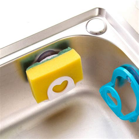 sponge holder for kitchen 1pc bathroom shelf towel soap dish holder kitchen