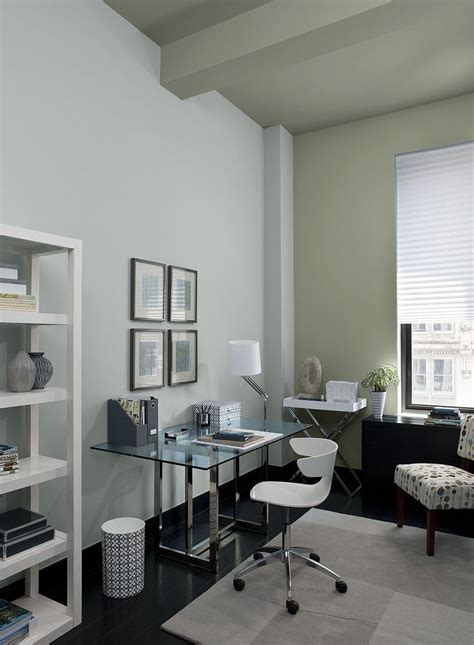 interior paint ideas and inspiration paint colors offices and grey home office paint