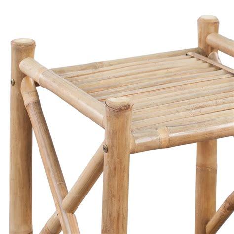 regal viereckig der bambus regal 4 etagig viereckig shop vidaxl de