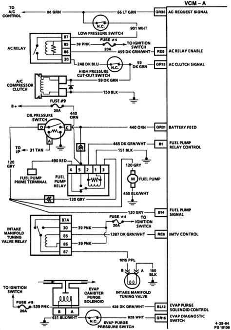 1991 s10 blazer fuel relay location wiring diagrams