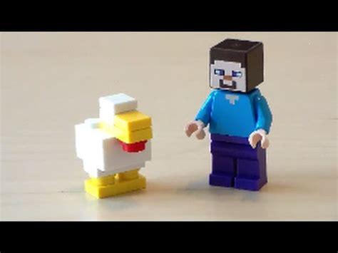 tutorial lego minecraft lego minecraft chicken tutorial youtube