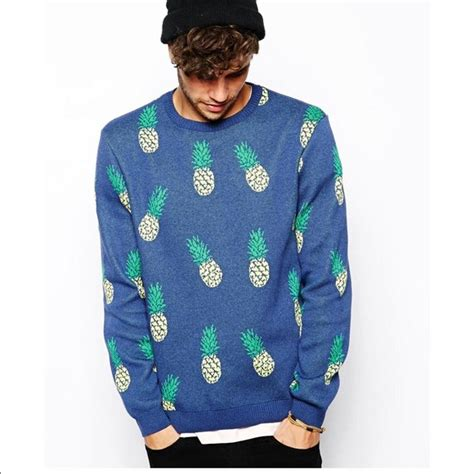 Sweater Pineapple 2 70 asos sweaters river island sweater with pineapple print asos from bash s closet on