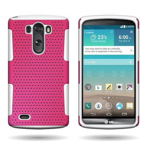 rugged cell phones 2014 for lg g3 2014 rugged dual layer mesh hybrid phone cover