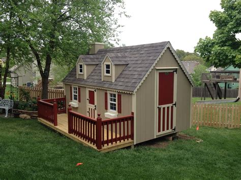 shed playhouse plans playhouses gt portable buildings storage sheds tiny houses
