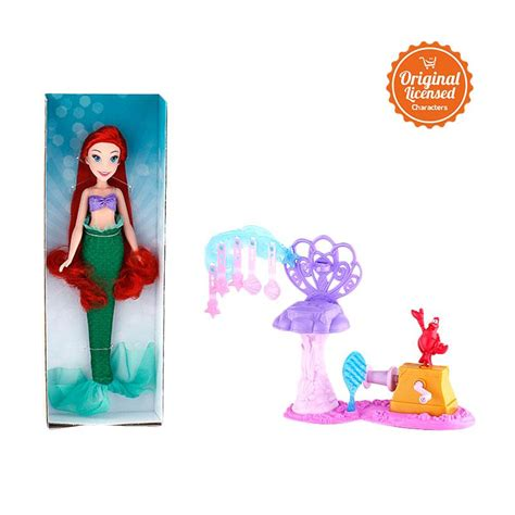 blibli disney jual disney princess ariels royal ribbon salon mainan anak