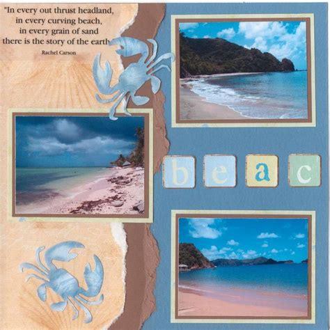 scrapbook layout beach 223 best scrapbook summer images on pinterest scrapbook