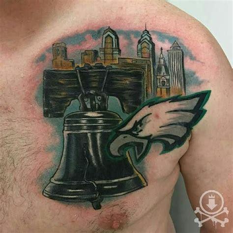 eagle tattoo gang 61 best philadelphia eagles tattoos images on pinterest