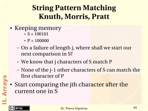 pattern matching empty string data structures and algorithms