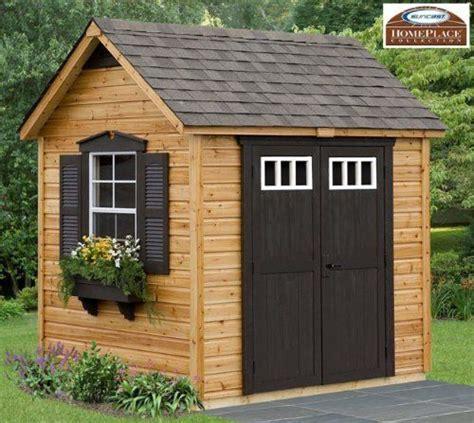 amazoncom legacy    wood garden  storage shed