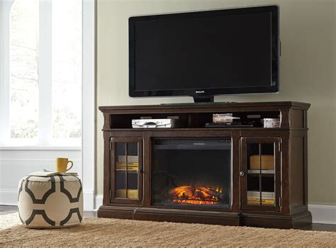 tv stand with fireplace insert roddinton large tv stand with fireplace insert w701