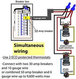 water heater wiring diagram images simultaneous thermostat wir water heater wiring