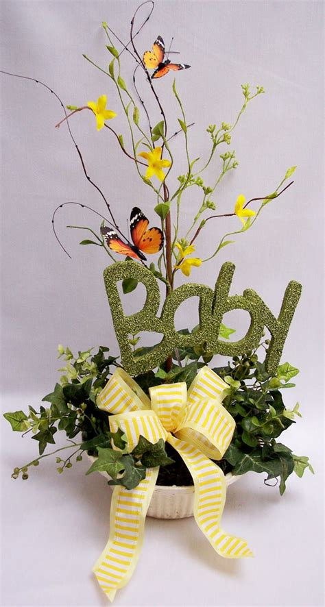 Furniture Beautiful Baby Shower Flower Centerpieces With Flowers For Baby Shower Centerpieces