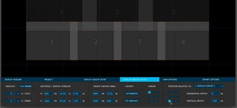 video display layout watchout display builder softedge calculator matkeane