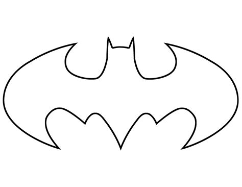 free stencil templates batman clipart 45 batman symbol template free cliparts