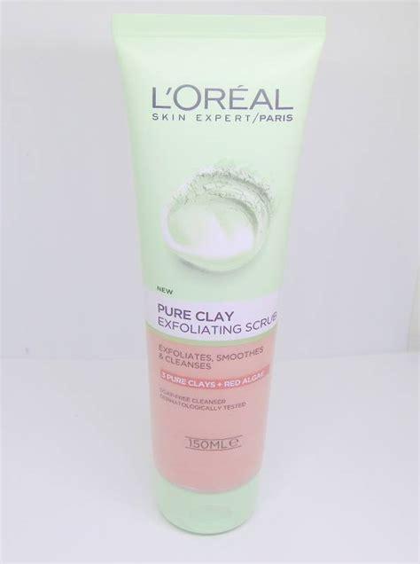 Scrub L Oreal l oreal clay exfoliating scrub review makeupandbeauty