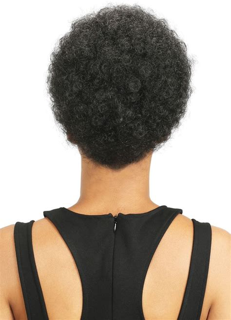 small afro puff buns hair pieces bobbi boss speedy up do top bun drawstring s afro pom small