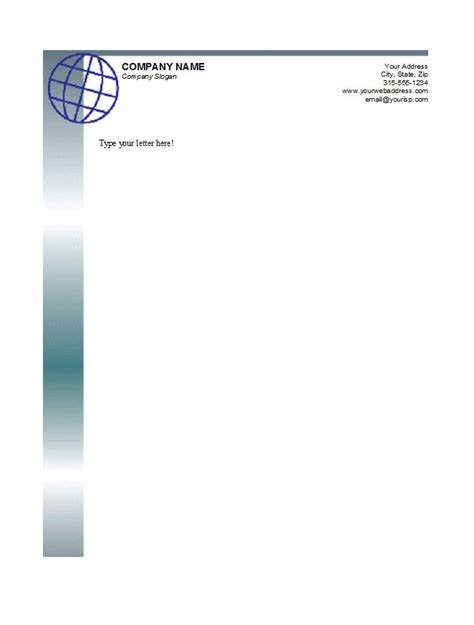 How To Create A Letterhead Template 46 free letterhead templates exles free template
