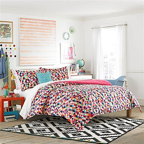 bed bath and beyond teen bedding teen vogue 174 kaleidoscope comforter set bed bath beyond
