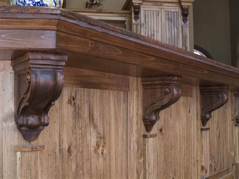 kitchen island brackets how to install corbels and brackets osborne wood