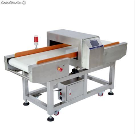 transportador detector de metales de alimentos