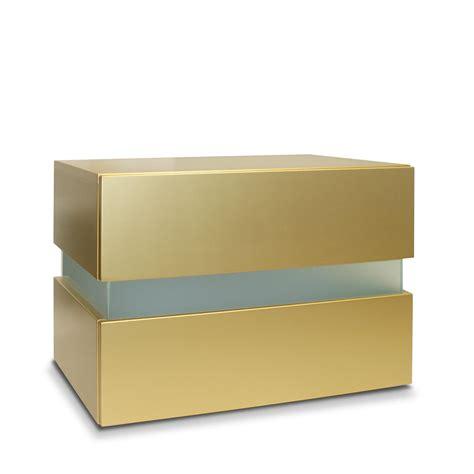 nachttisch gold nachttisch flow gold limited edition vladon m 246 bel