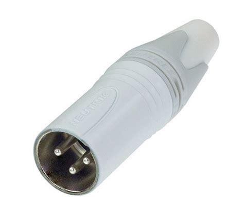 Neutrik Nc3mxx Xlr 3 Pin Pole Original neutrik nc3mxx wt xlr cable connector 4 83