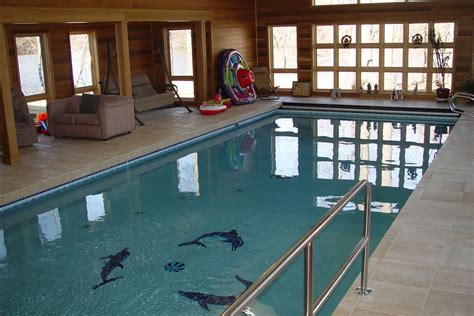 residential indoor pools indoor pool with therapy design colts neck new jersey