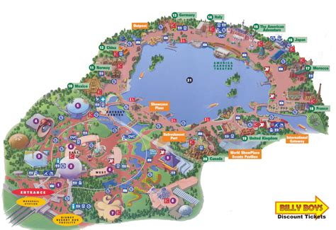 epcot disney world map besttabletfor me