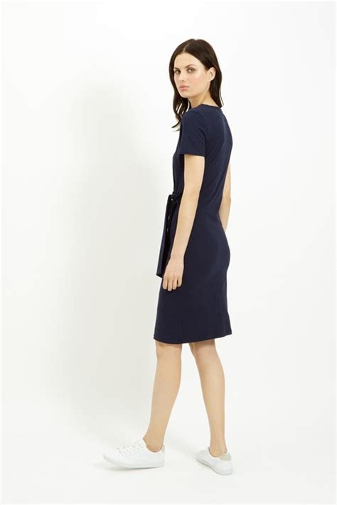 Elsa Navy tree elsa dress in navy