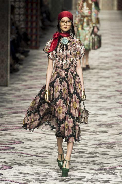 Fashion Gucci 3 Ruang gucci at milan fashion week 2016 livingly