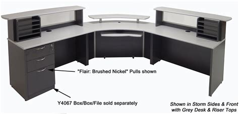 reception desk dimensions dimensions custom reception station